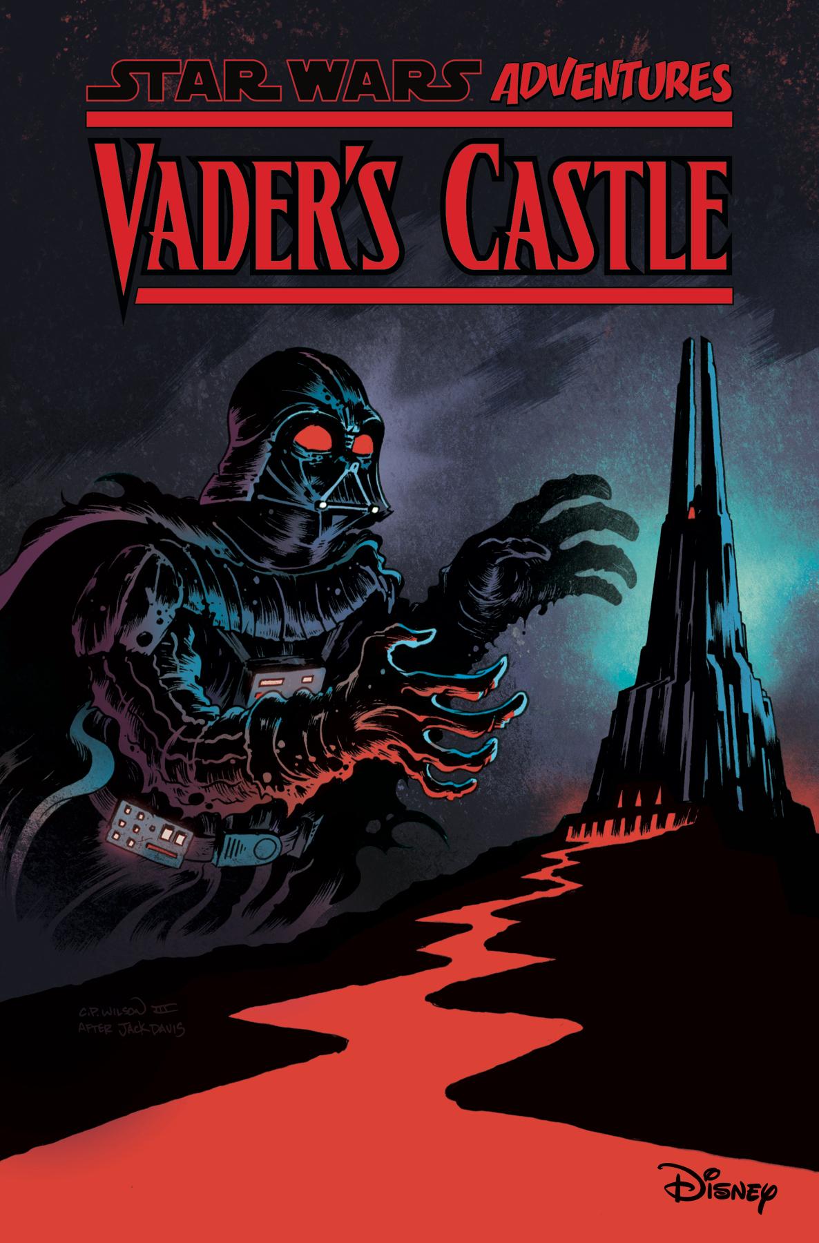 STAR WARS ADVENTURES BEWARE VADERS CASTLE HC
