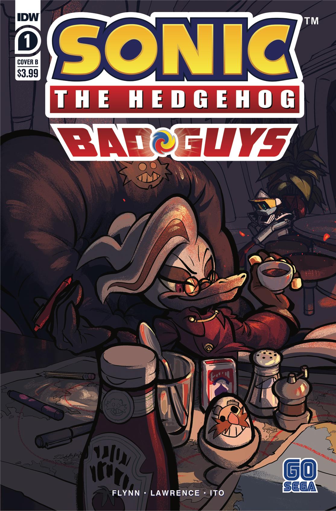 SONIC THE HEDGEHOG BAD GUYS #1 (OF 4) CVR B SKELLY