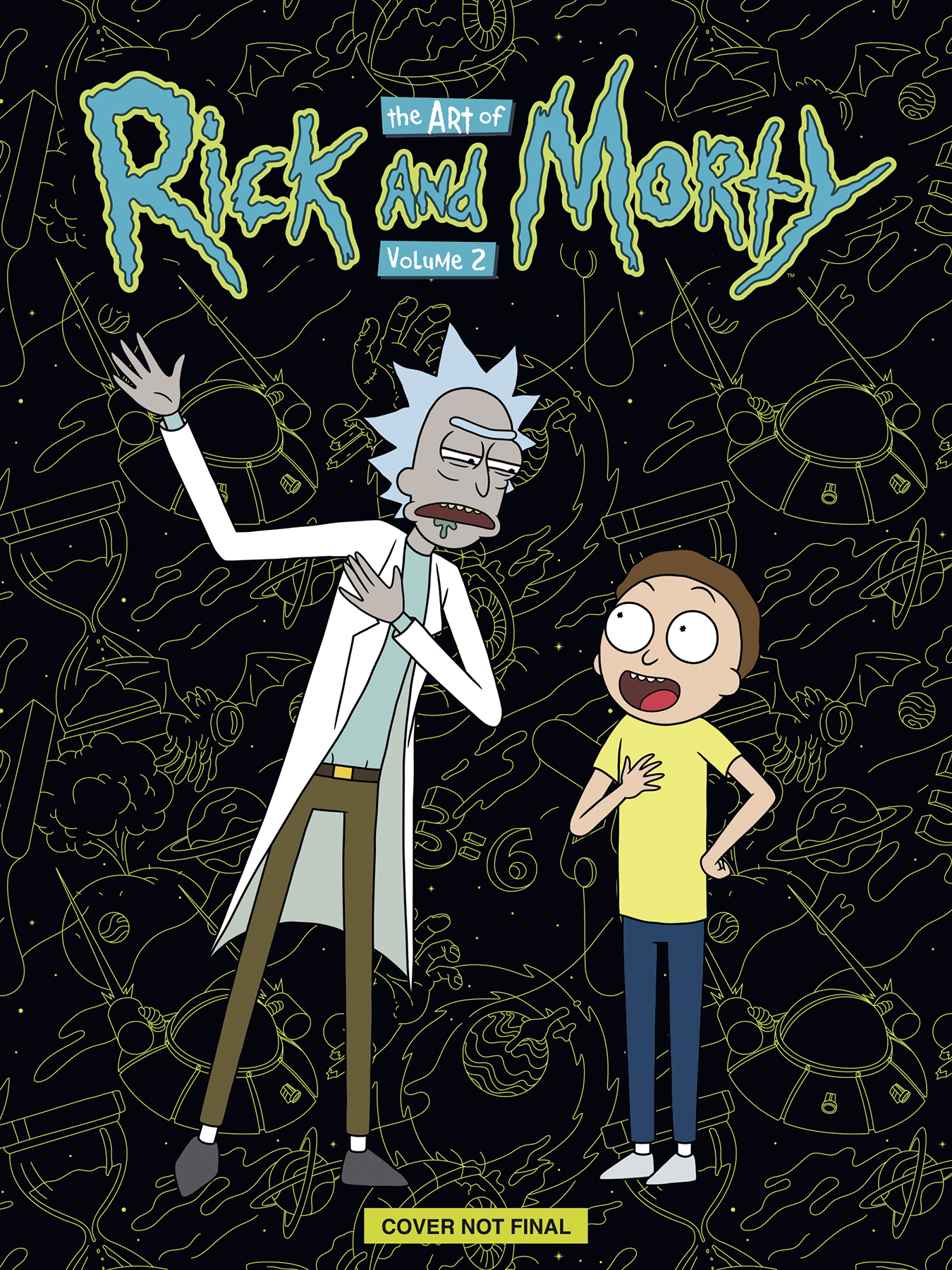 ART OF RICK & MORTY HC DLX ED VOL 02