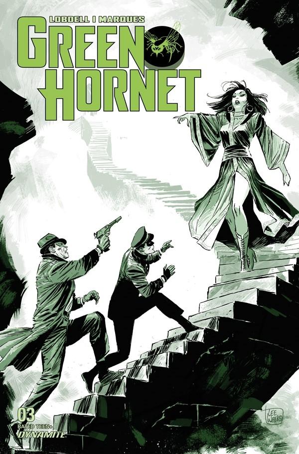 GREEN HORNET #3 CVR A WEEKS