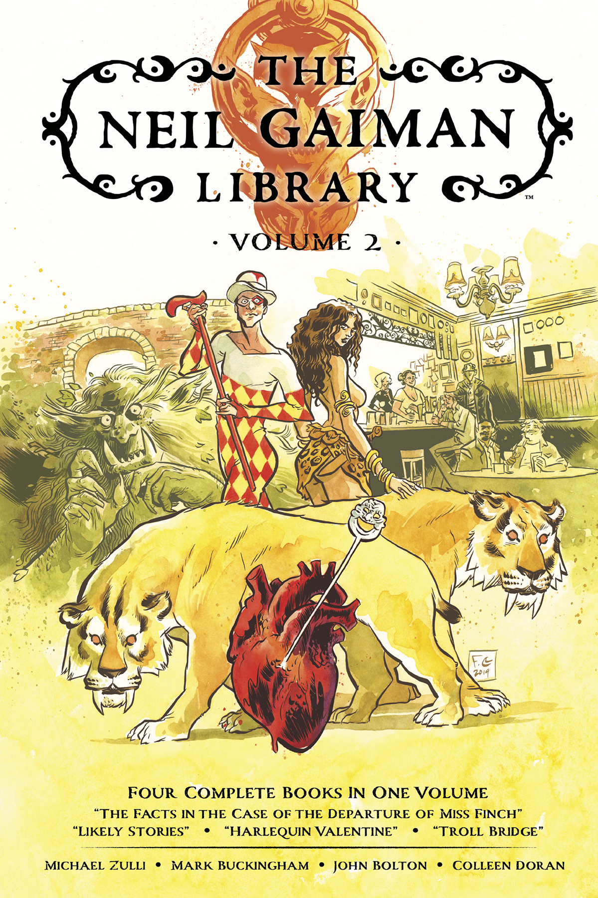 NEIL GAIMAN LIBRARY EDITION HC VOL 02