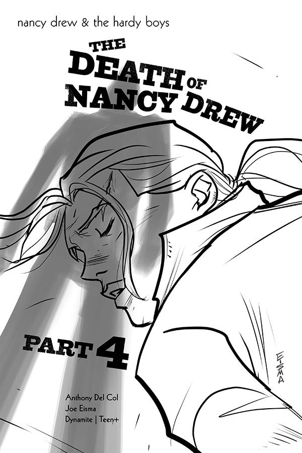 NANCY DREW & HARDY BOYS DEATH OF NANCY DREW #4 10 COPY EISMA