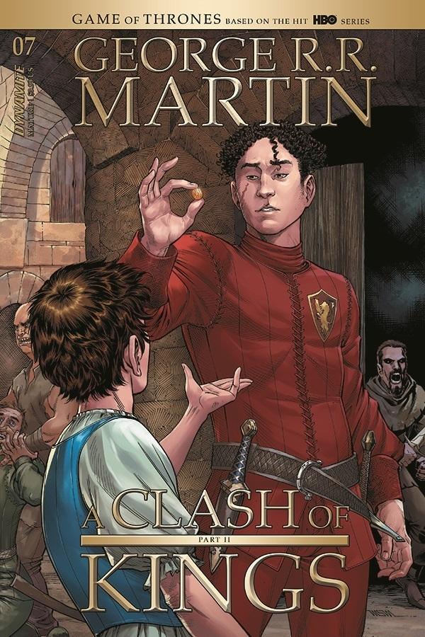 GEORGE RR MARTIN A CLASH OF KINGS #7 CVR A MILLER (MR)