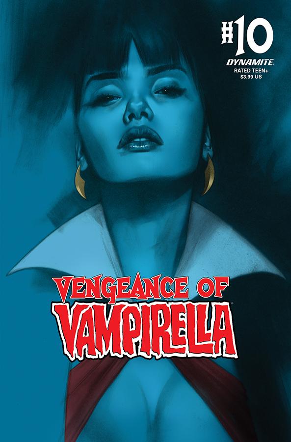 VENGEANCE OF VAMPIRELLA #10 CGC GRADED OLIVER CVR