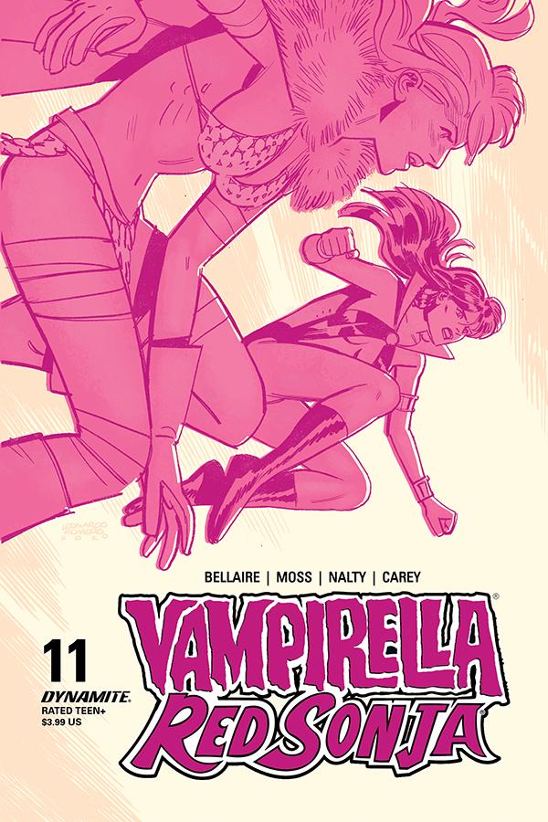 VAMPIRELLA RED SONJA #11 CVR C ROMERO & BELLAIRE