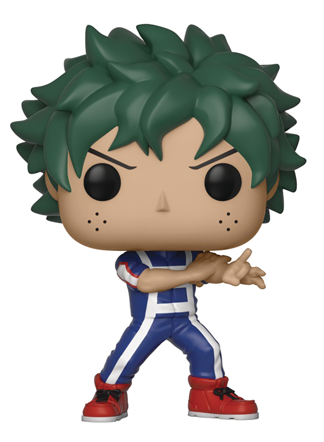Apr188371 Pop Animation Mha Deku Training Vinyl Fig