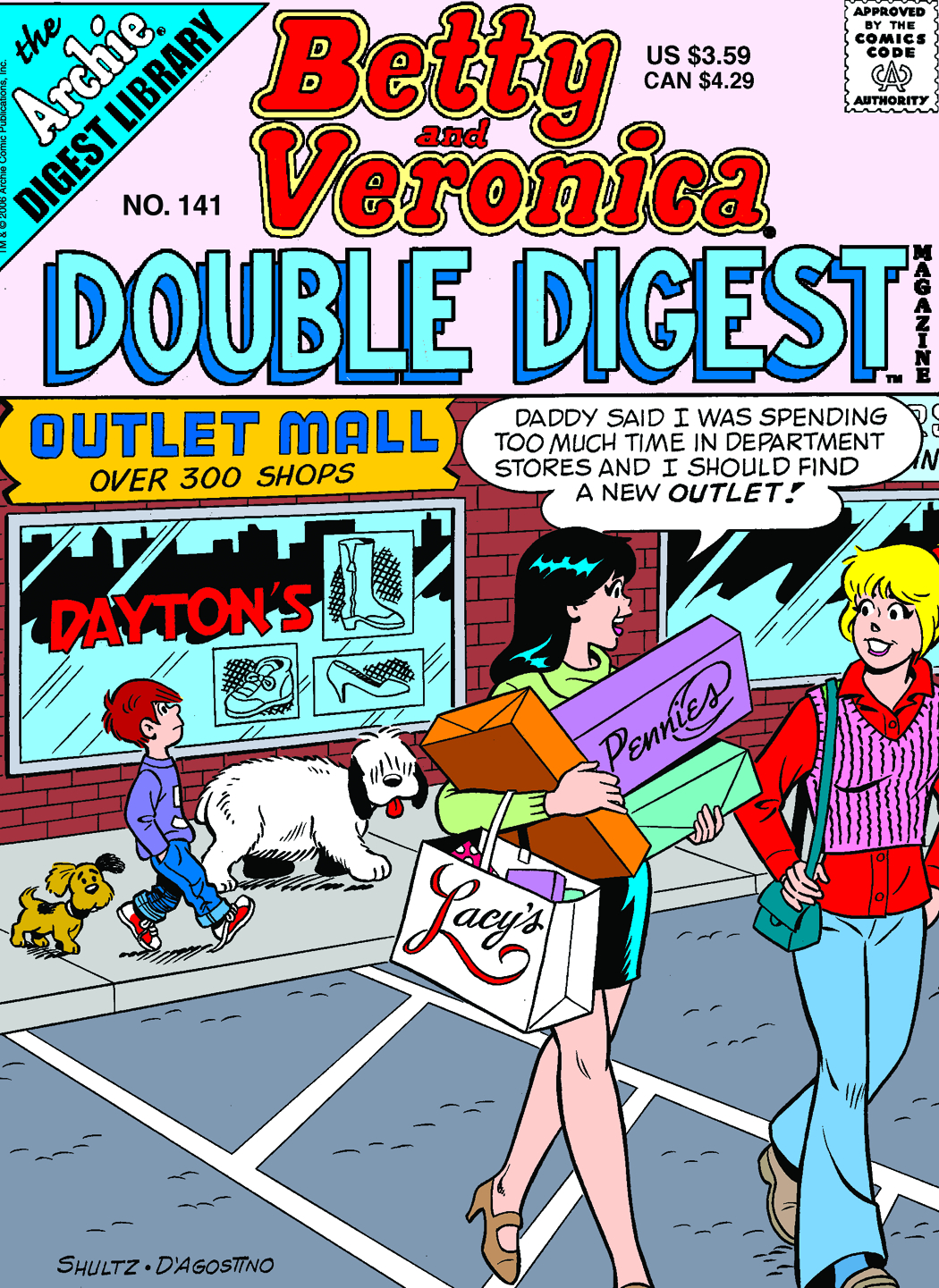 BETTY & VERONICA DOUBLE DIGEST #141