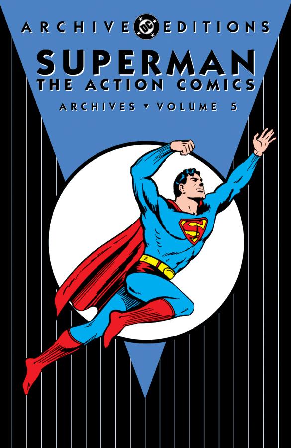 SUPERMAN ACTION COMICS ARCHIVES VOL 5 HC [#69-85]
