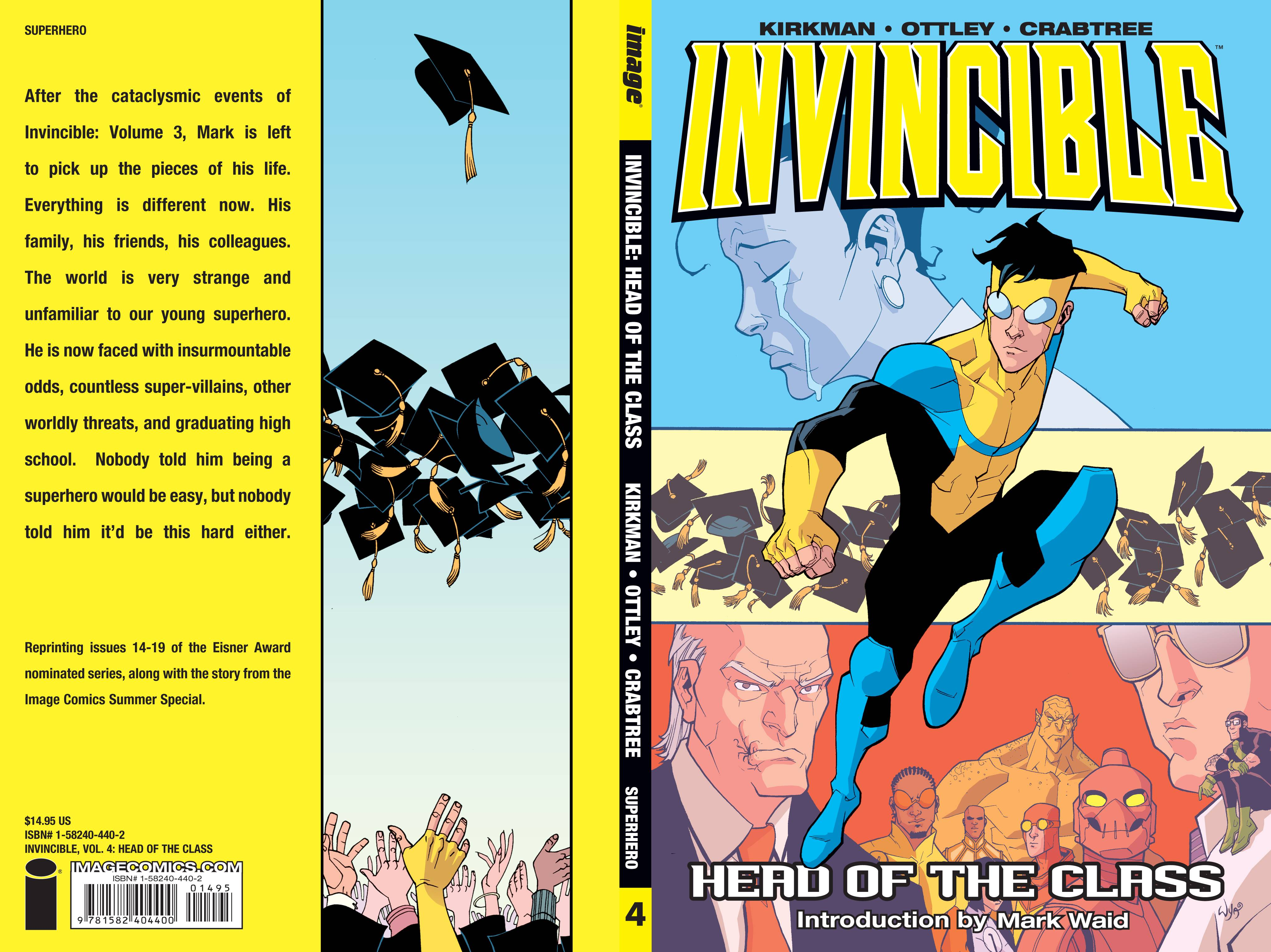 INVINCIBLE TP VOL 04 HEAD OF THE CLASS