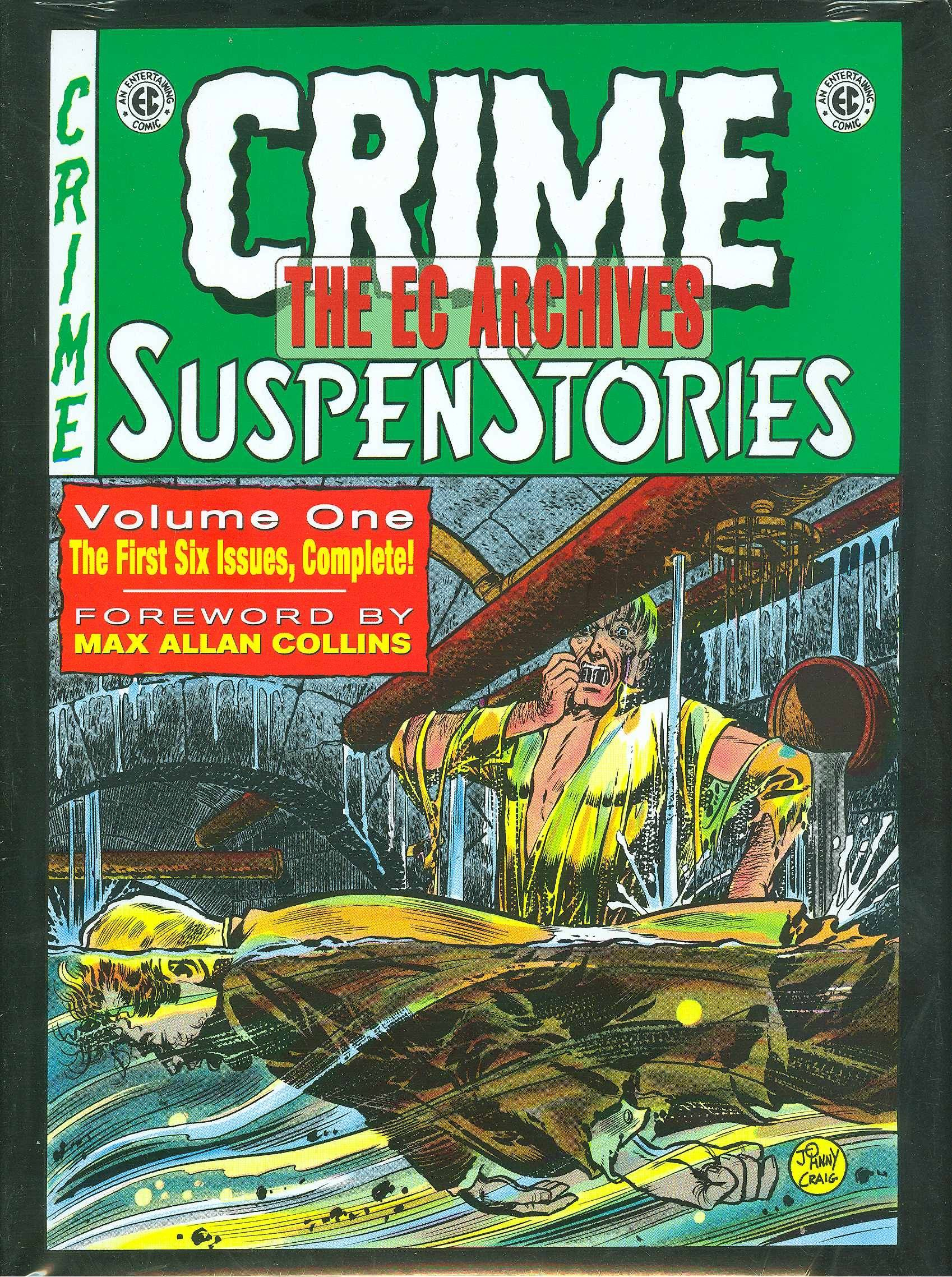 EC ARCHIVES CRIME SUSPENSTORIES HC VOL 01