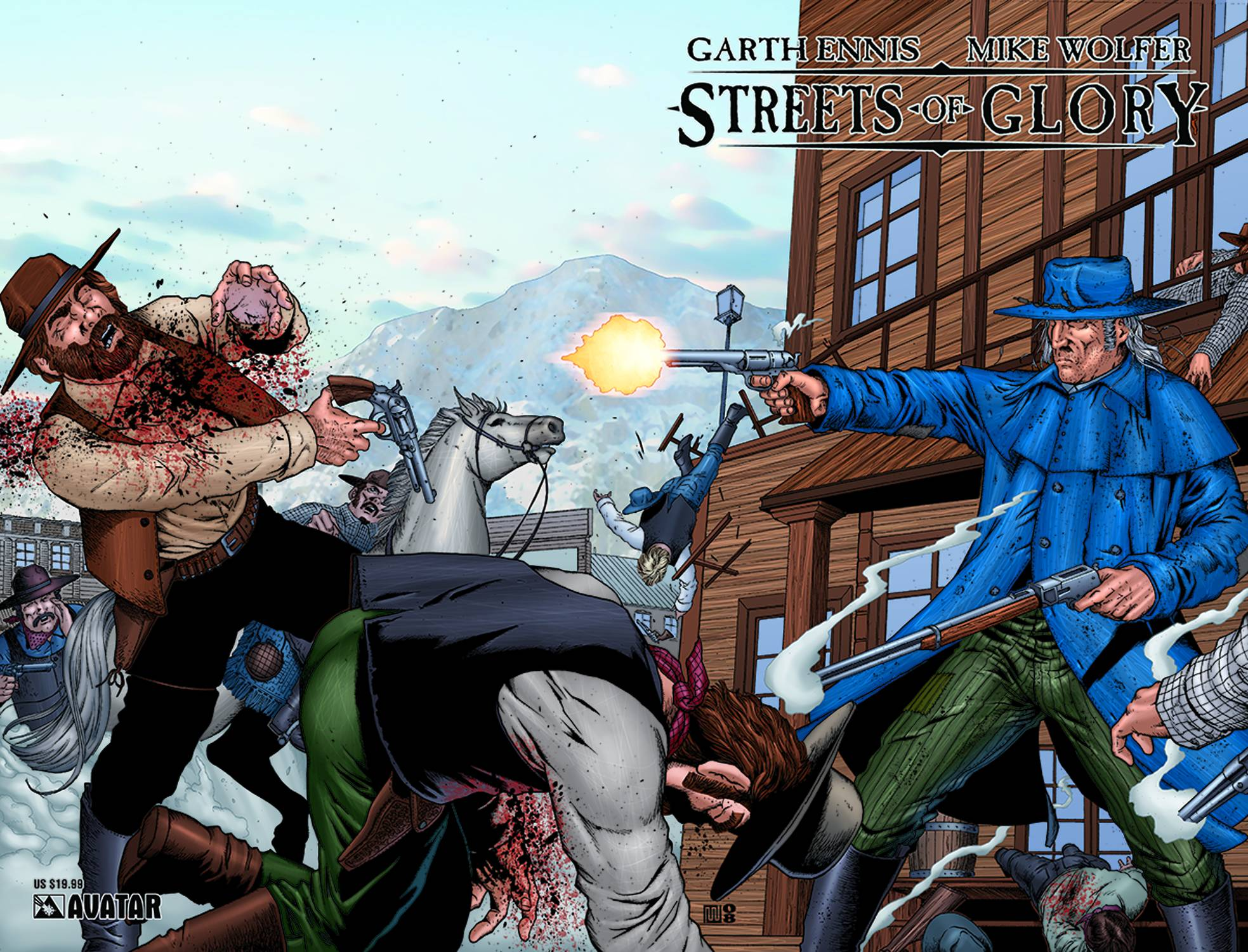STREETS OF GLORY TP (MR)