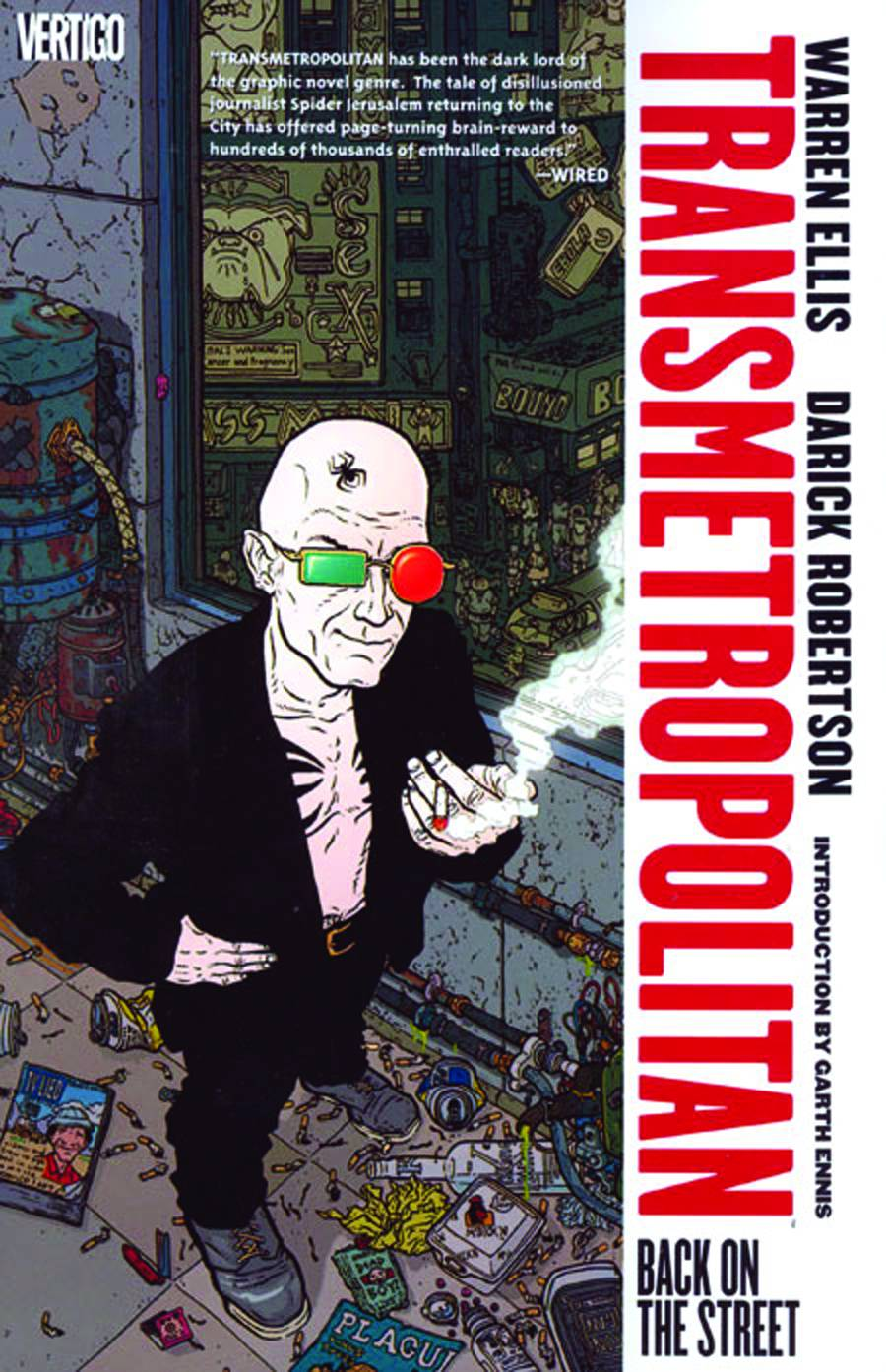 TRANSMETROPOLITAN TP VOL 01 BACK ON THE STREET (MR)