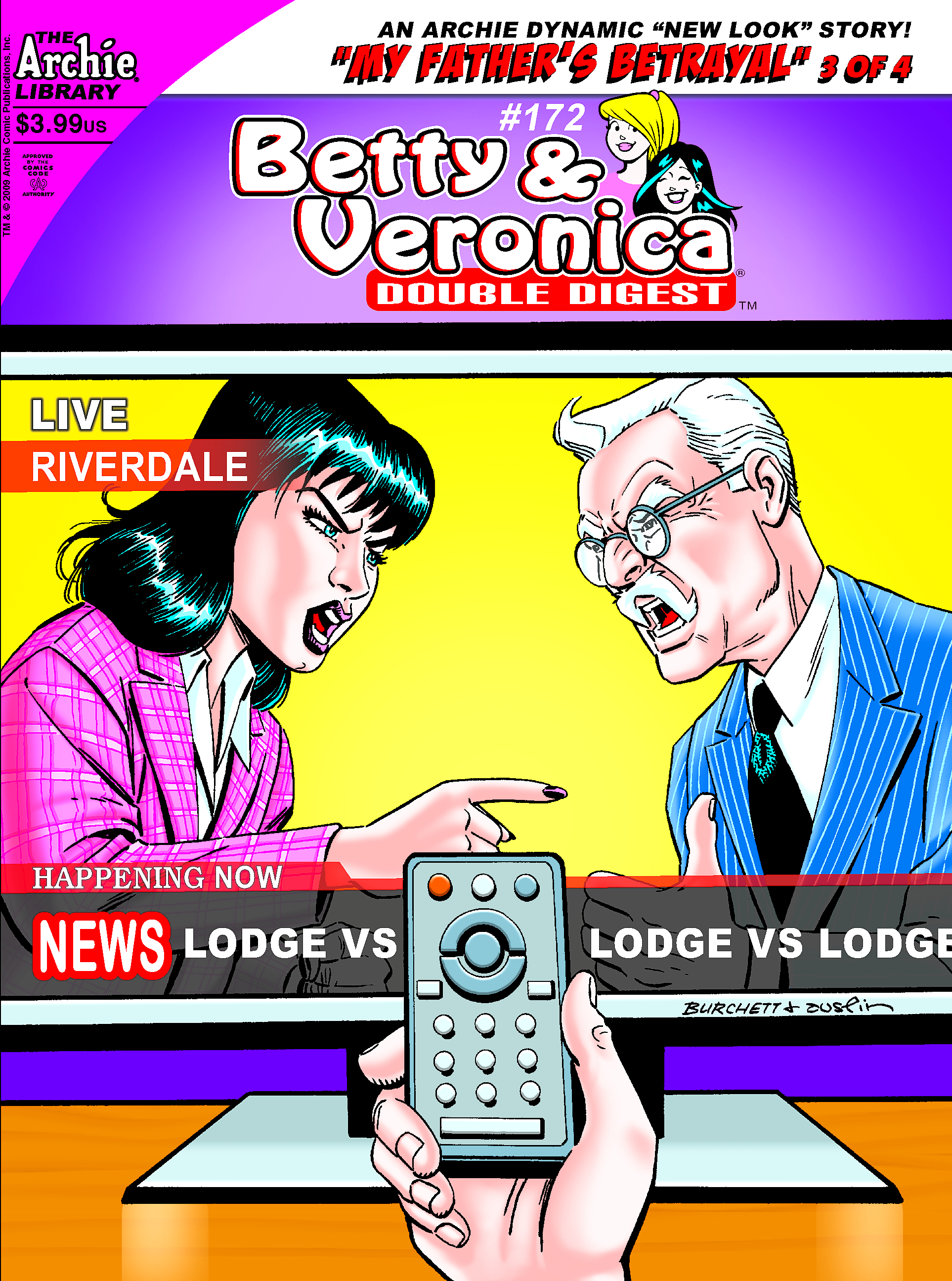 BETTY & VERONICA DOUBLE DIGEST #172