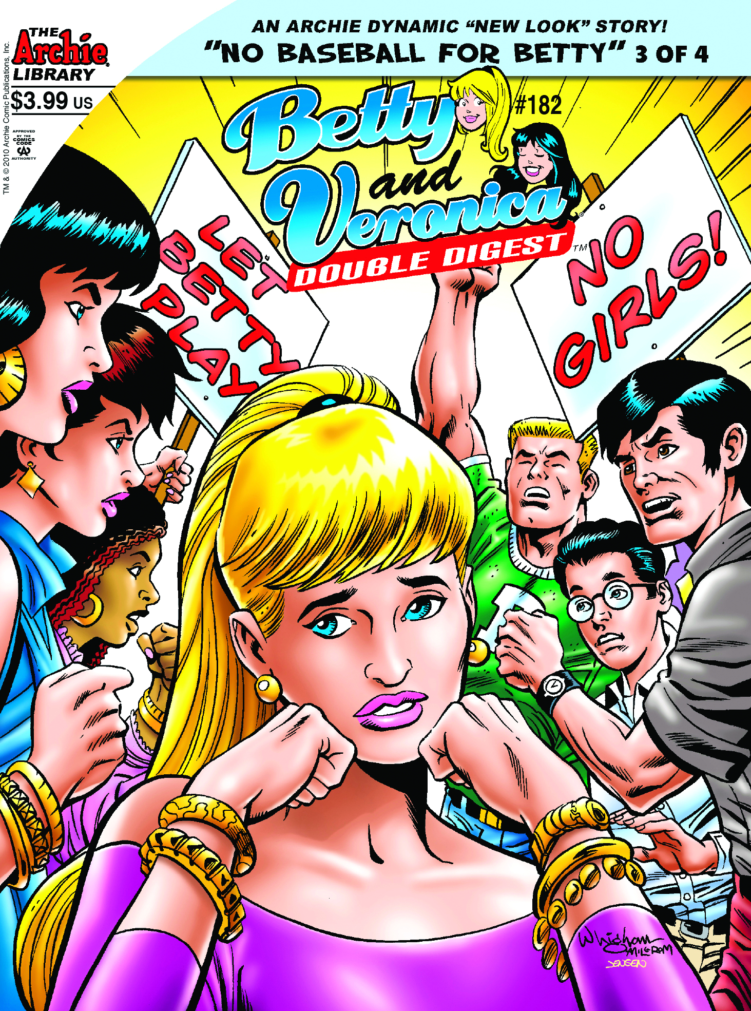 BETTY & VERONICA DOUBLE DIGEST #182