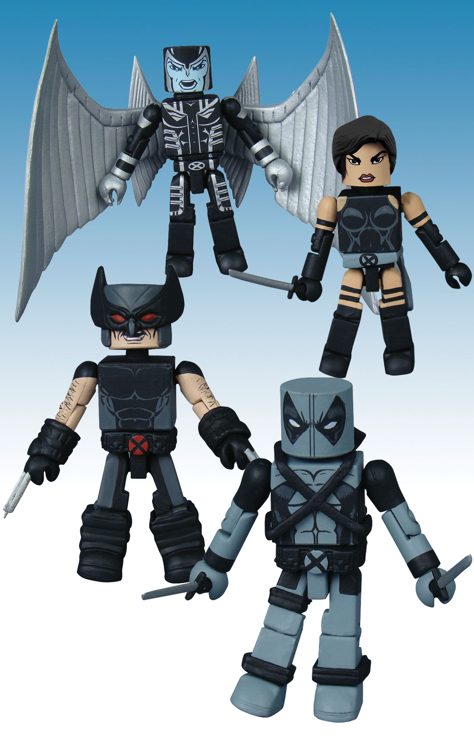 MARVEL MINIMATES UNCANNY X-FORCE BOX SET