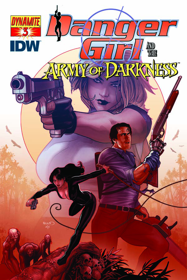 DANGER GIRL ARMY OF DARKNESS #3
