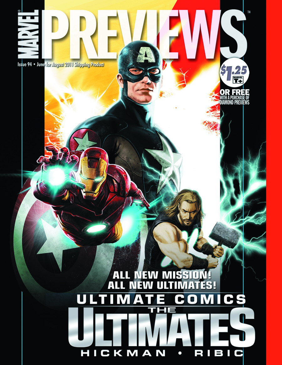 MARVEL PREVIEWS JUNE 2011 EXTRAS