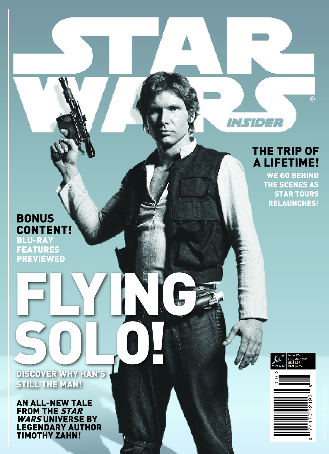 STAR WARS INSIDER #127 SPECIAL NEWSSTAND ED
