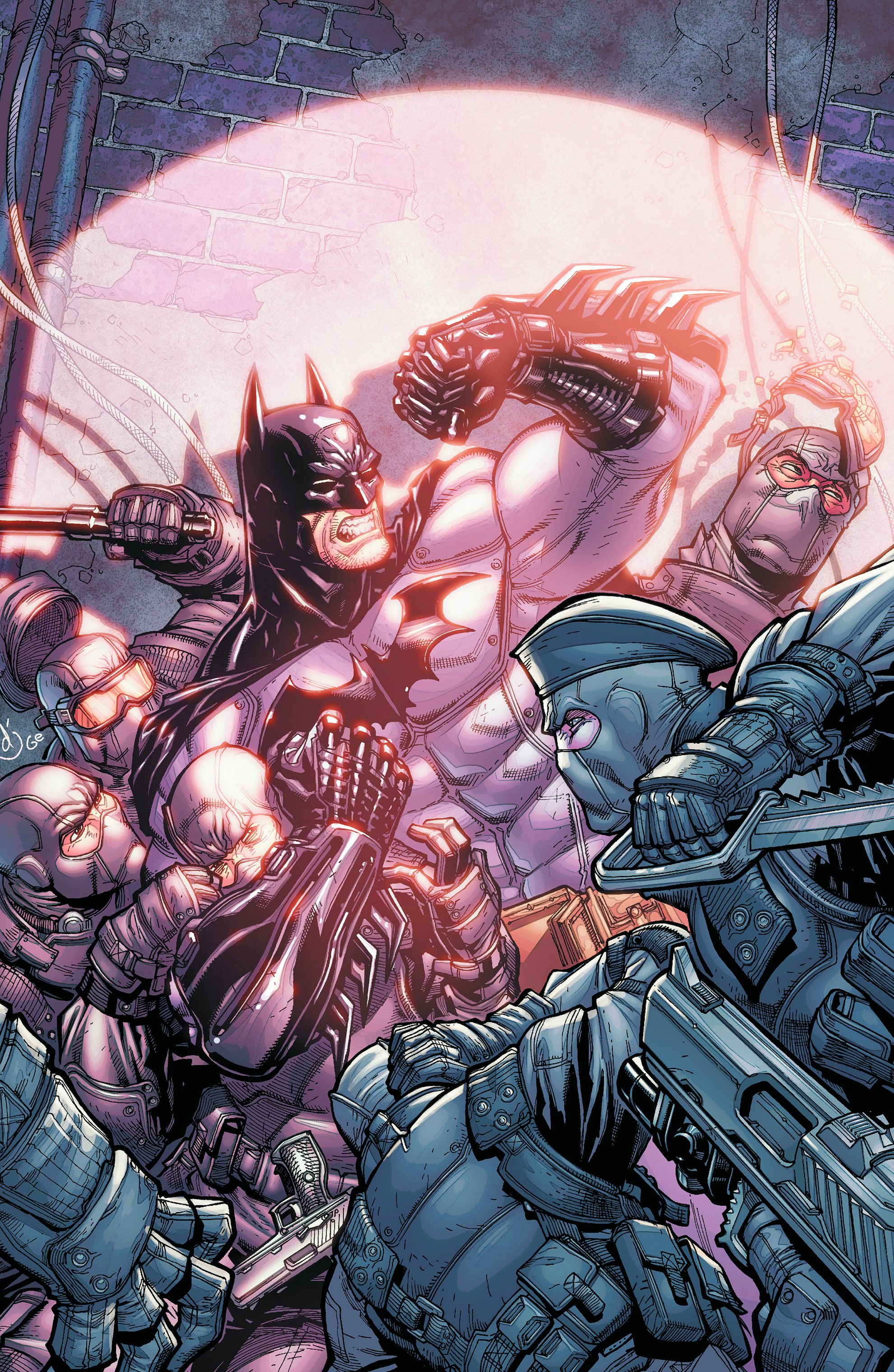 BATMAN ARKHAM CITY #4 (OF 5)