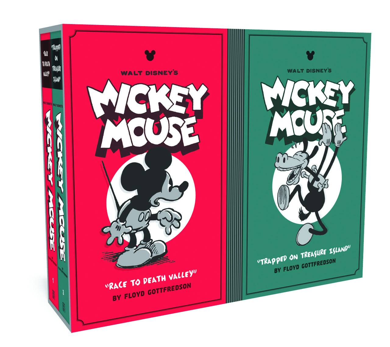 DISNEY MICKEY MOUSE BOX SET HC VOL 01 & 02
