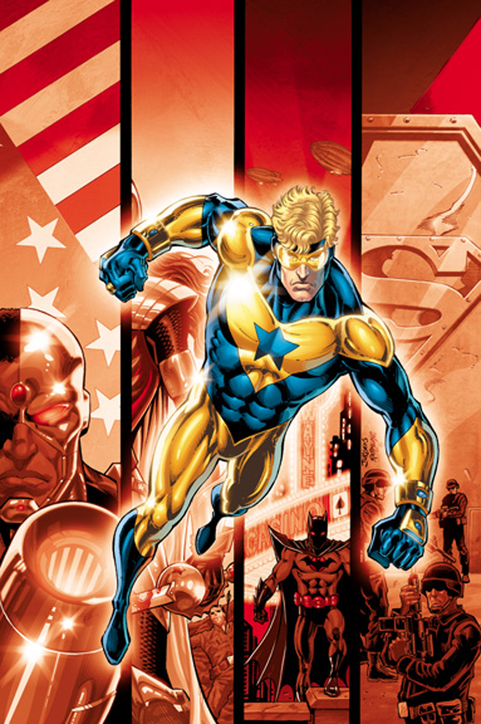 BOOSTER GOLD 2ND PTG #44 (FLASHPOINT)