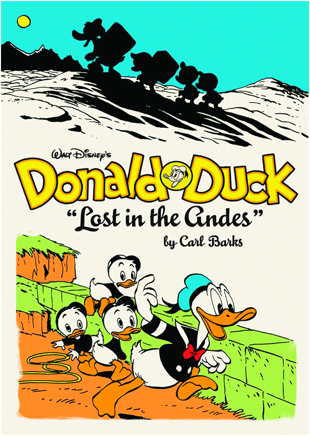 (USE MAY138162) WALT DISNEY DONALD DUCK HC VOL 01 LOST IN AN