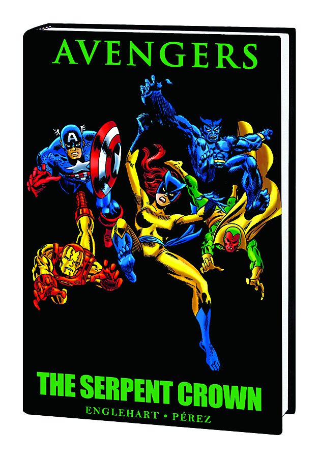 AVENGERS SERPENT CROWN PREM HC