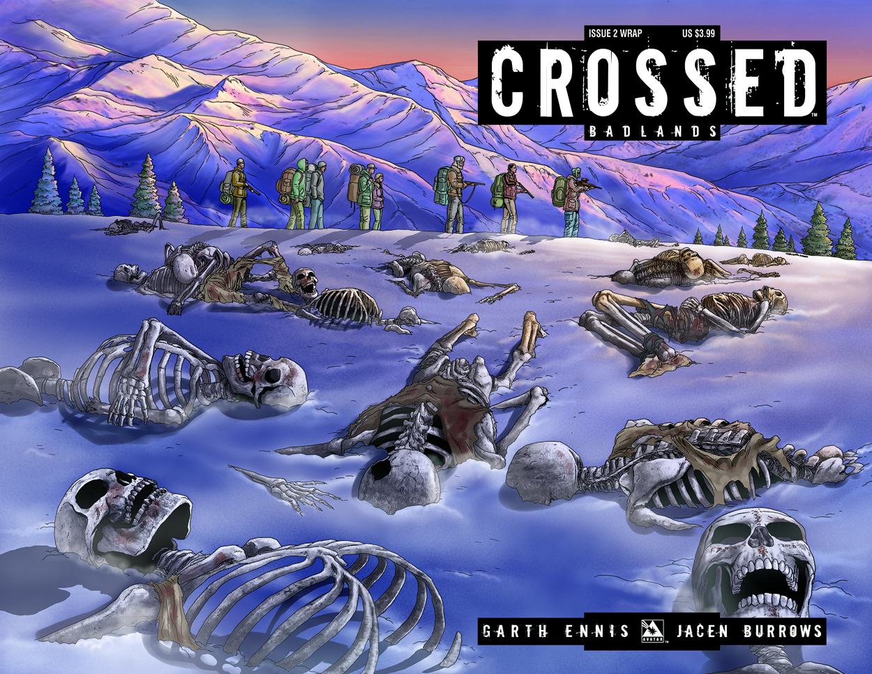 CROSSED BADLANDS #2 WRAP CVR (MR)