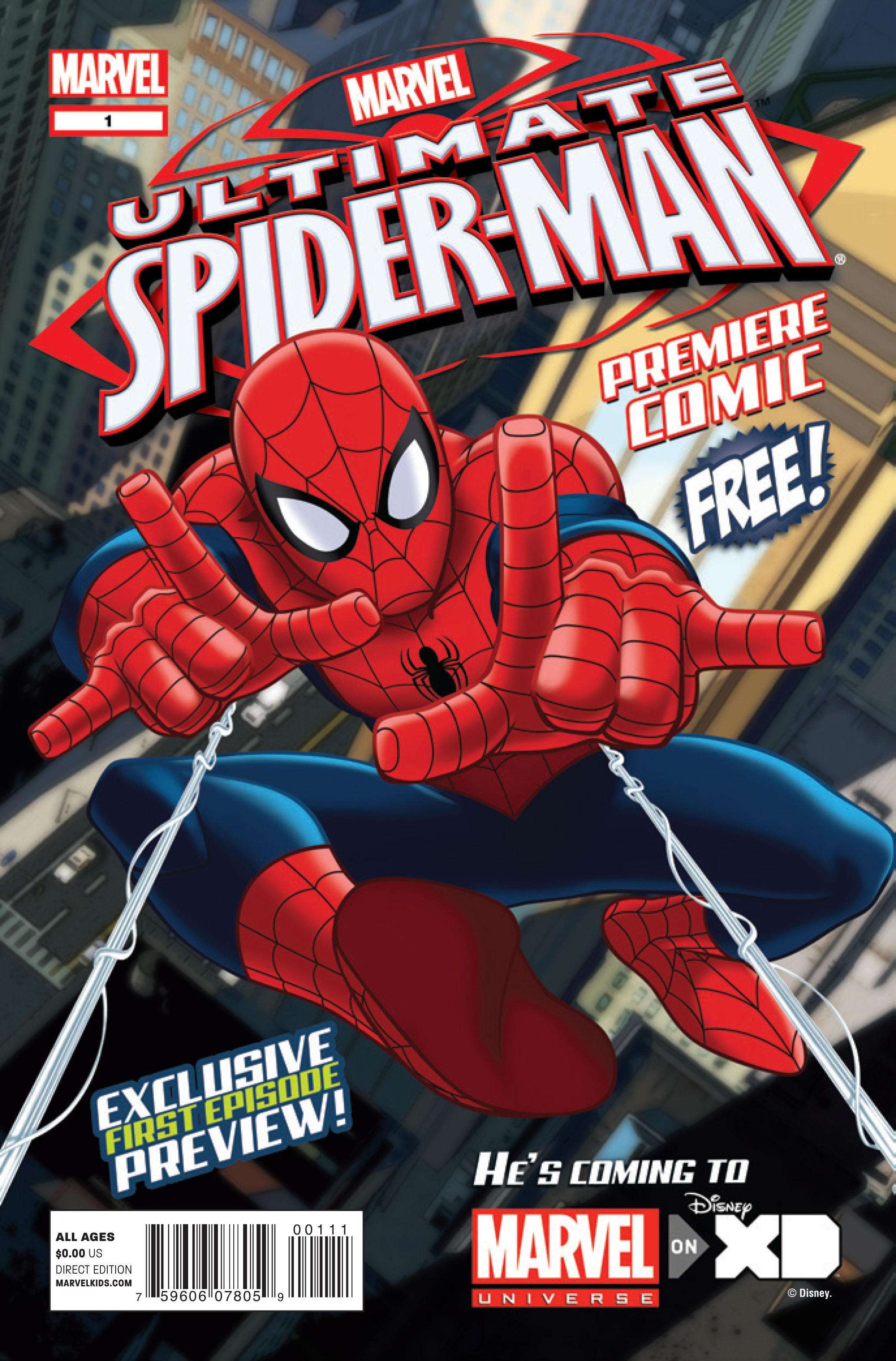 ULTIMATE SPIDER-MAN PREM COMIC #1 (BUNDLE OF 25)