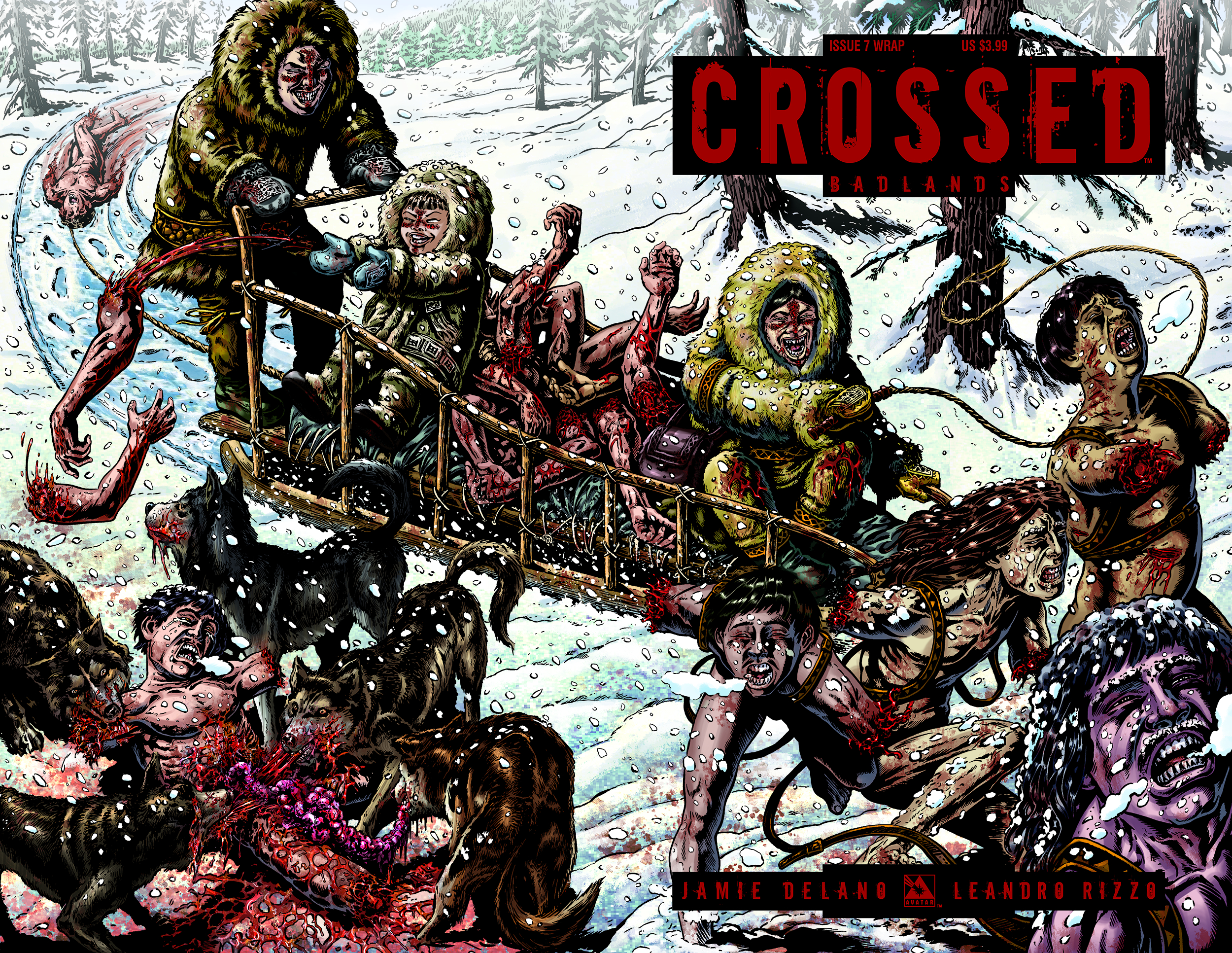 CROSSED BADLANDS #7 WRAP CVR (MR)