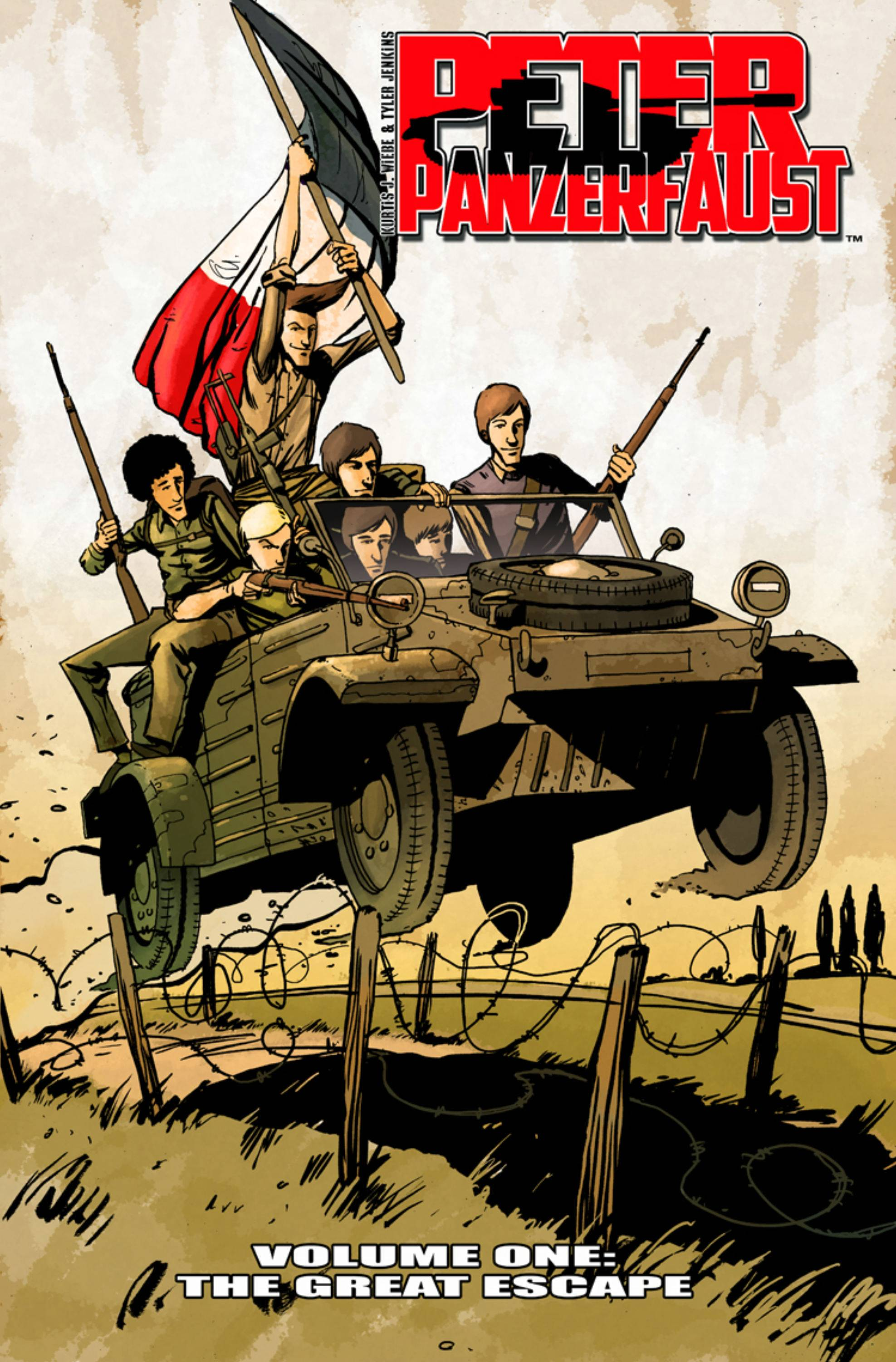 PETER PANZERFAUST TP VOL 01 THE GREAT ESCAPE (JUN120480)