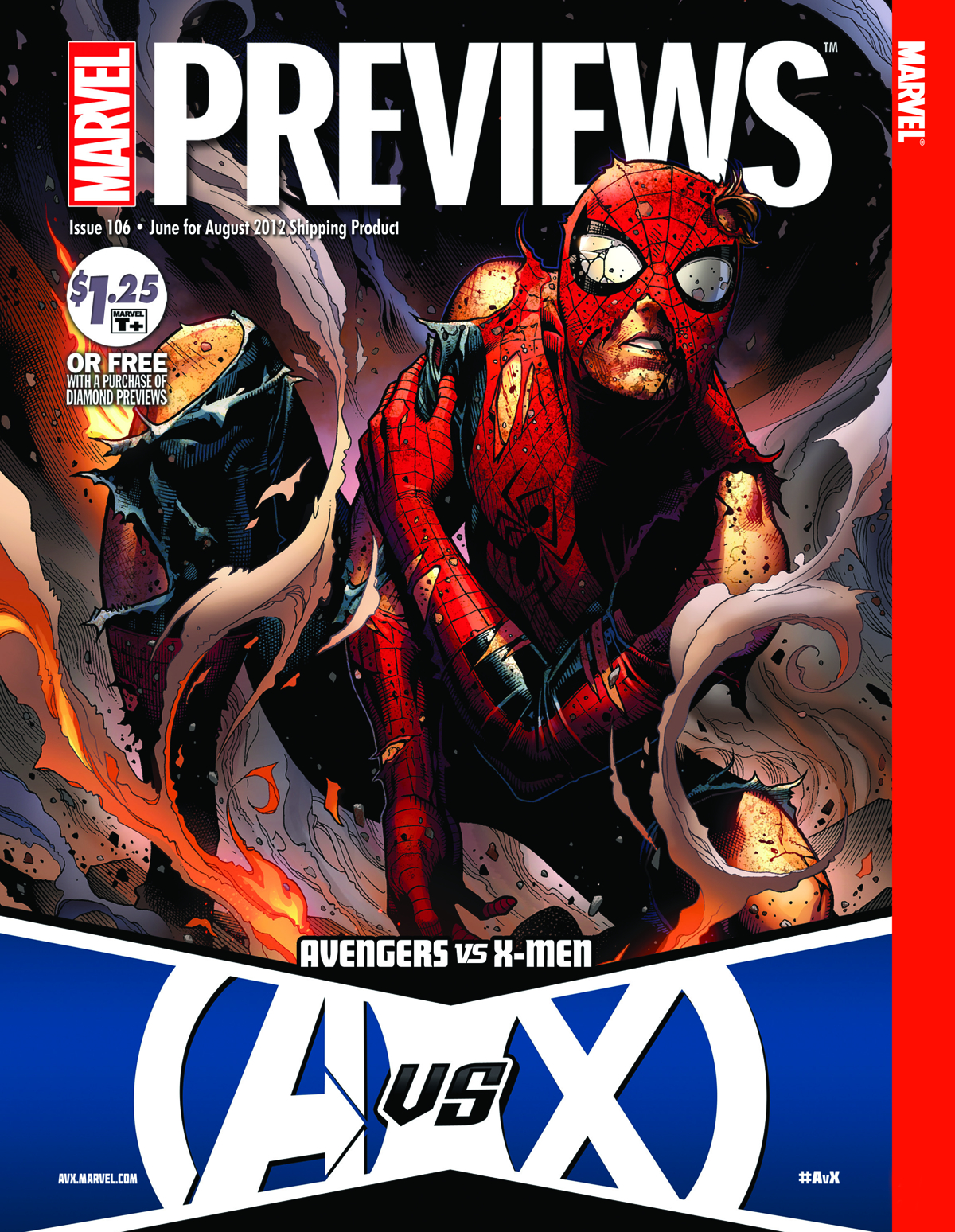 MARVEL PREVIEWS AUGUST 2012 EXTRAS