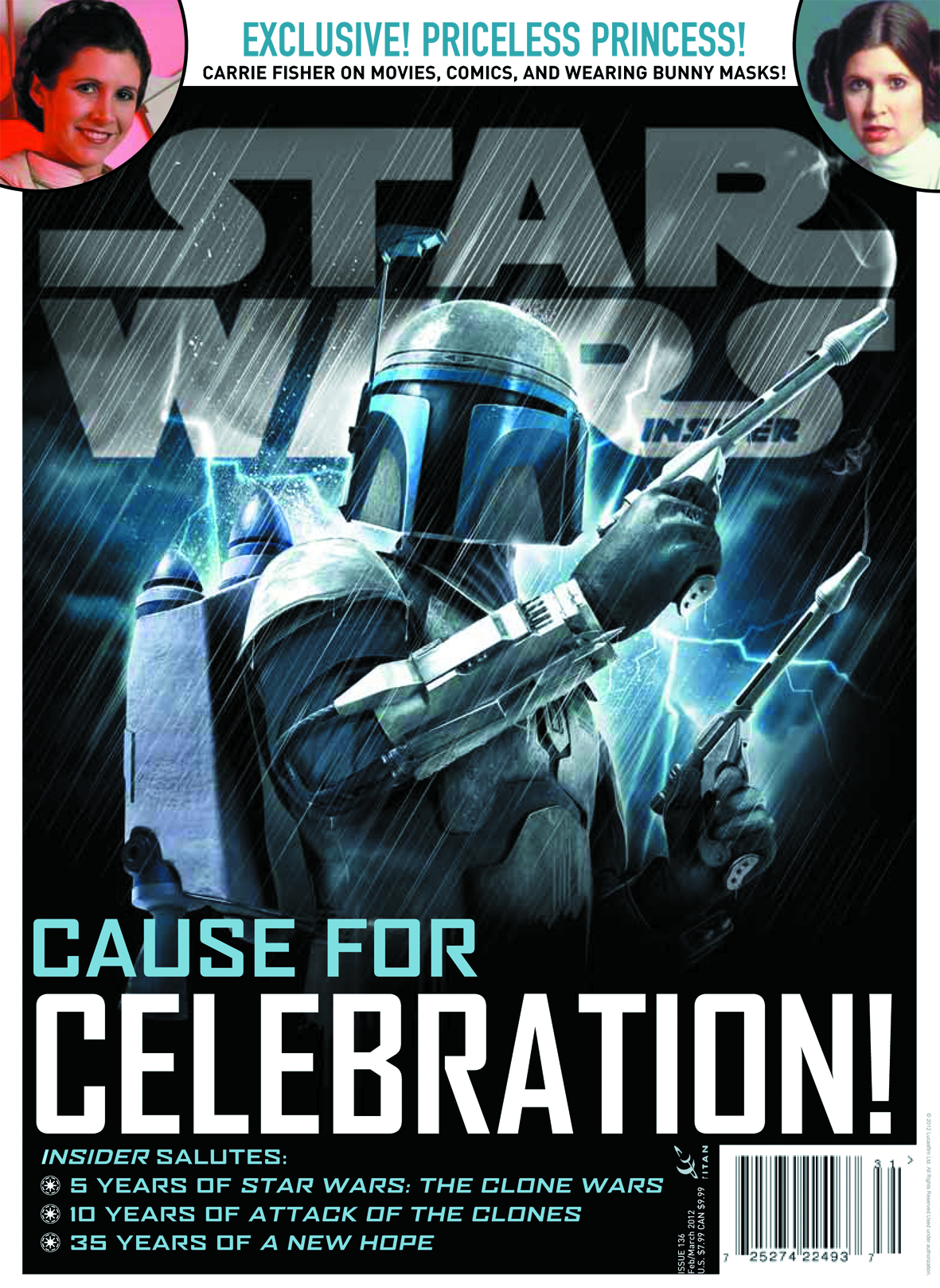 STAR WARS INSIDER #136 NEWSSTAND ED