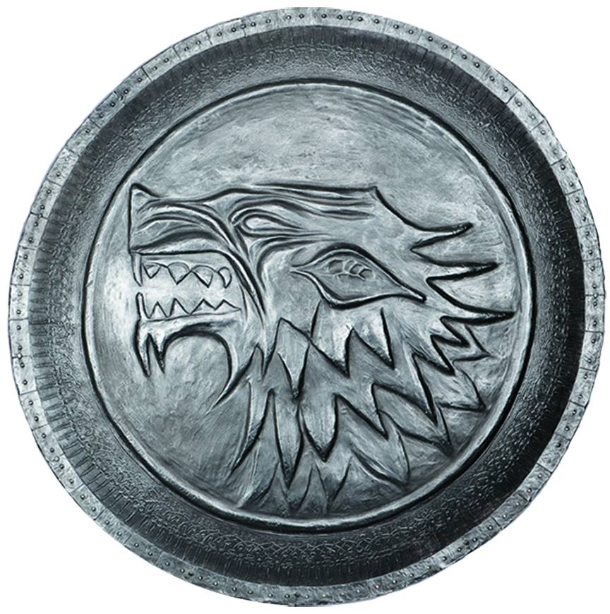 GAME OF THRONES PIN SHIELD STARK