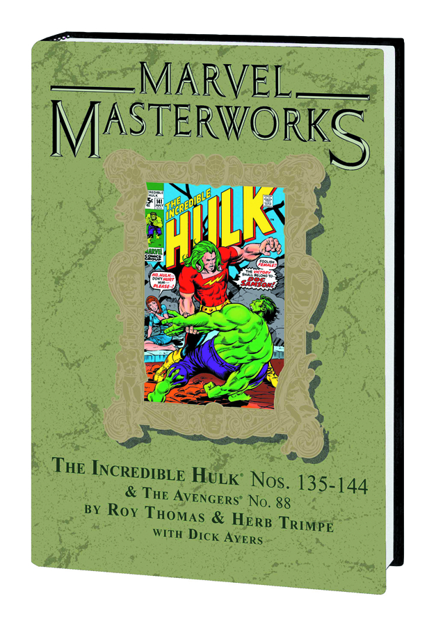 MMW INCREDIBLE HULK HC VOL 07 DM VAR ED 193