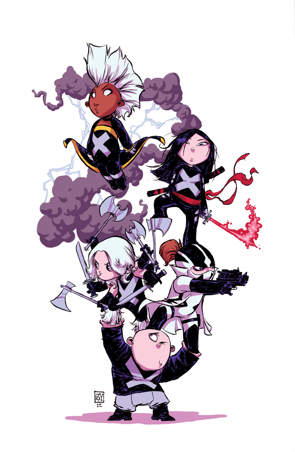 UNCANNY X-FORCE #1 YOUNG VAR NOW