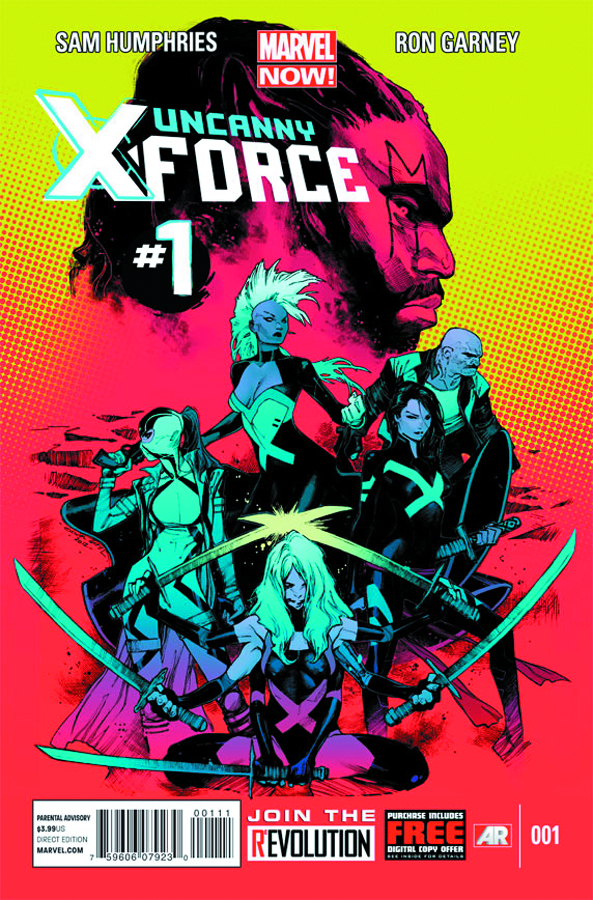 UNCANNY X-FORCE #1 DESIGN ANKA VAR NOW