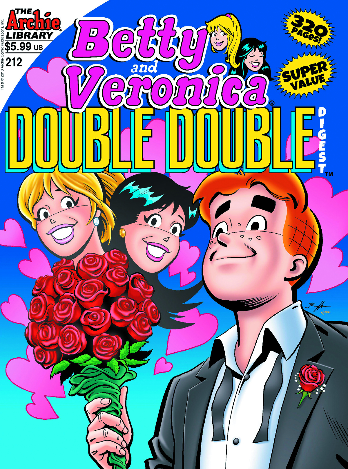 BETTY & VERONICA DOUBLE DOUBLE DIGEST #212 (NOTE PRICE)