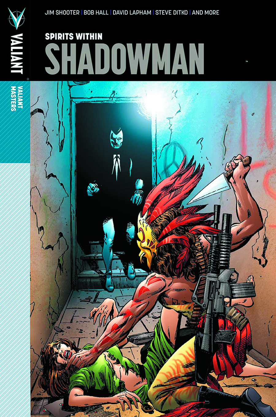 VALIANT MASTERS SHADOWMAN HC VOL 01 SPIRITS WITHIN