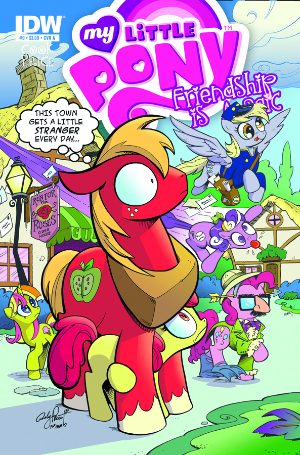 MY LITTLE PONY FRIENDSHIP IS MAGIC #9
