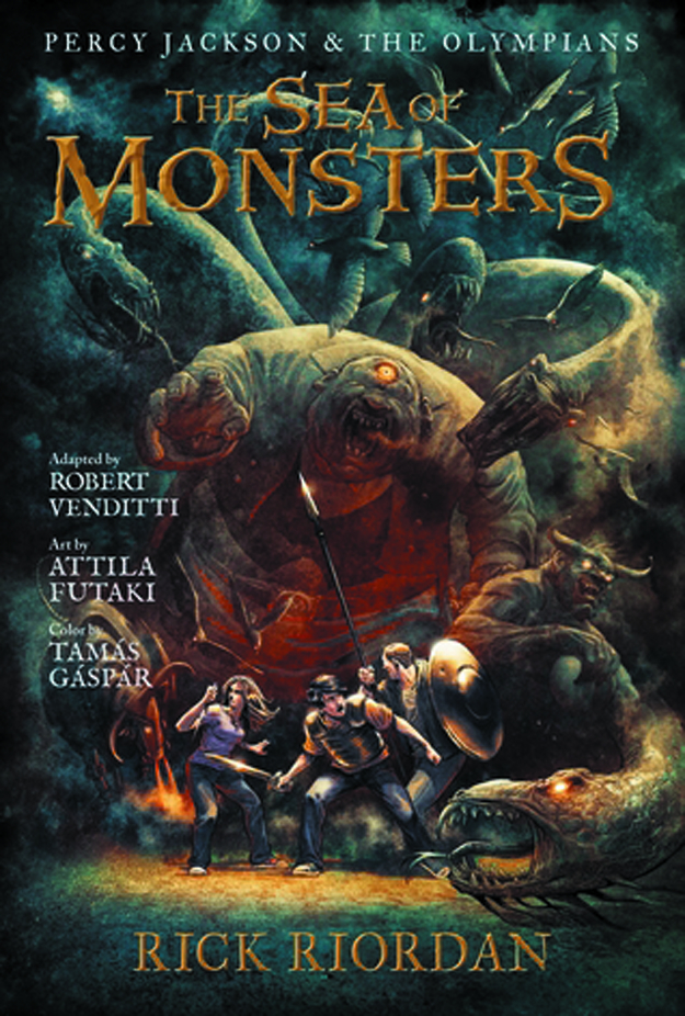 PERCY JACKSON & OLYMPIANS HC VOL 02 SEA OF MONSTERS