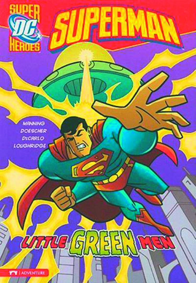 DC SUPER HEROES SUPERMAN YR TP LITTLE GREEN MEN