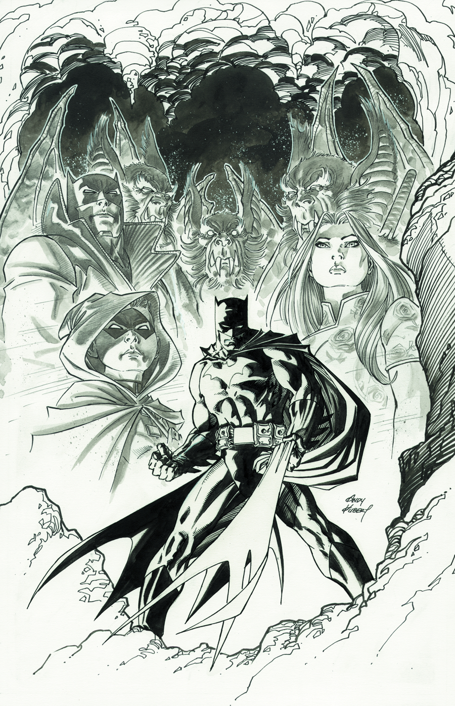 BATMAN UNWRAPPED BY ANDY KUBERT DELUXE ED HC