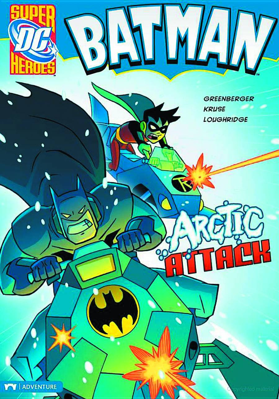 DC SUPER HEROES BATMAN YR TP ARCTIC ATTACK