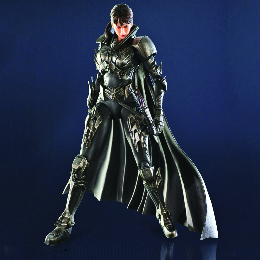 MAN OF STEEL PLAY ARTS KAI FAORA-UL AF