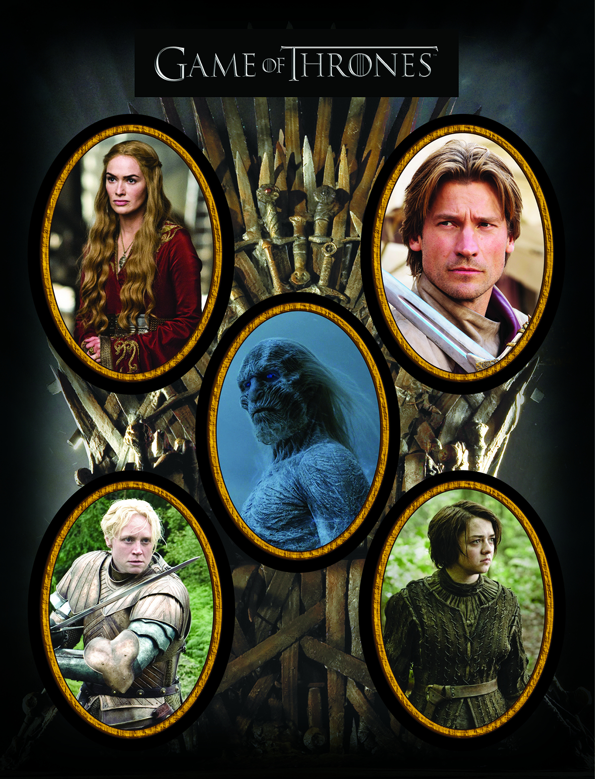 GAME OF THRONES MAGNET SET CHARACTERS 2
