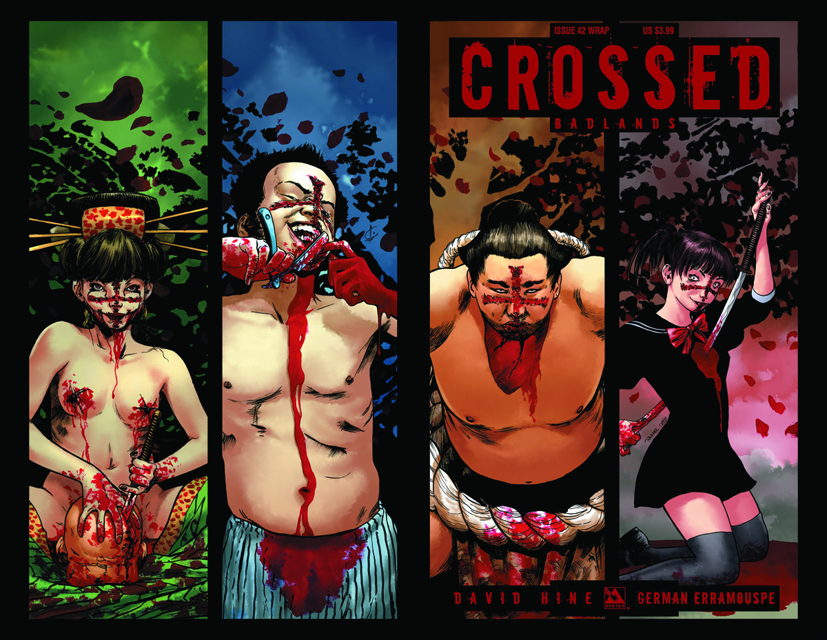 CROSSED BADLANDS #42 WRAP CVR (MR)