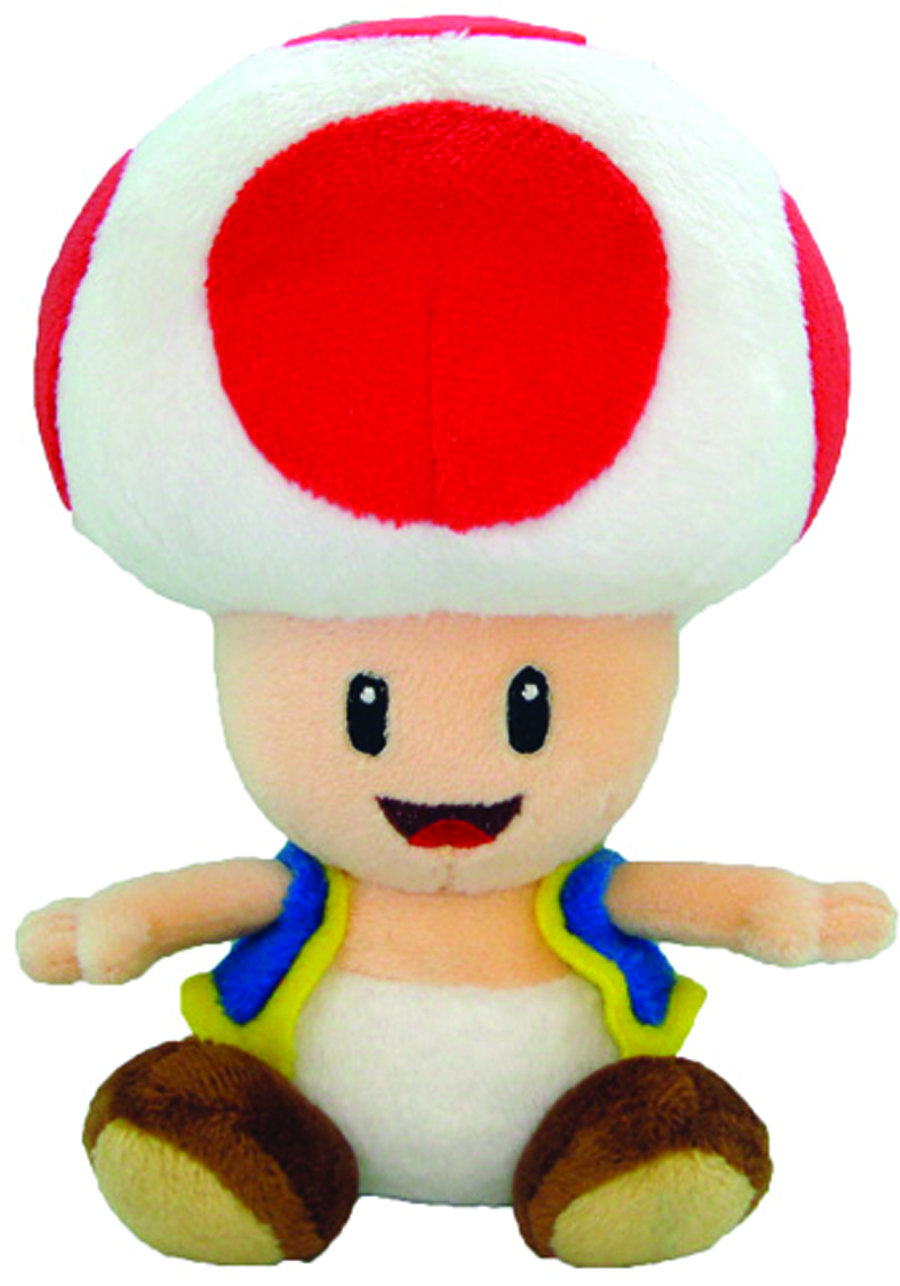 Oct131966 Super Mario Bros Toad 7in Plush Previews World