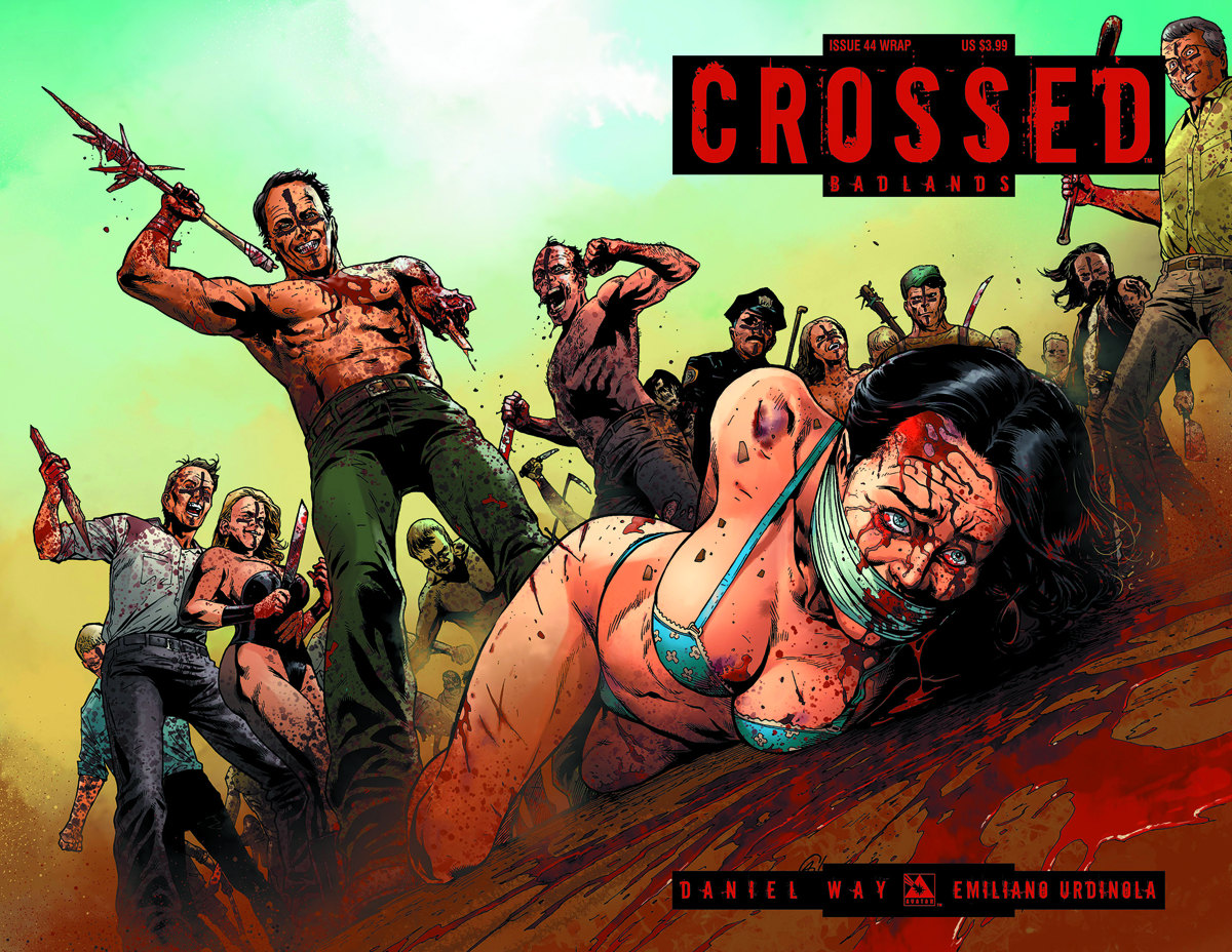 CROSSED BADLANDS #44 WRAP CVR (MR)
