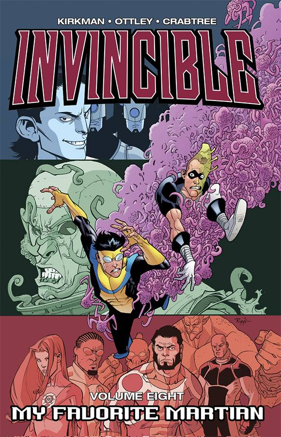 INVINCIBLE TP VOL 08 MY FAVORITE MARTIAN CUR